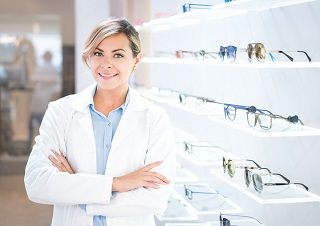 image of optometrist